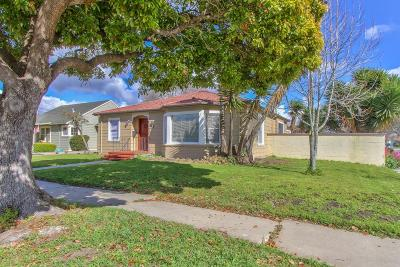 SALINAS Single Family Home For Sale: 95 San Clemente Ave