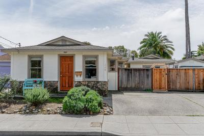 Santa Cruz Single Family Home For Sale: 134 Coulson Ave