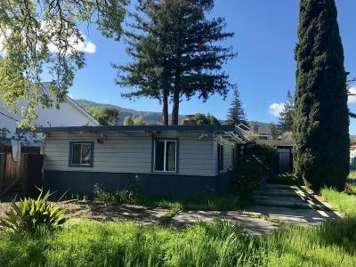 LOS GATOS Single Family Home For Sale: 16336 Shady View Ln