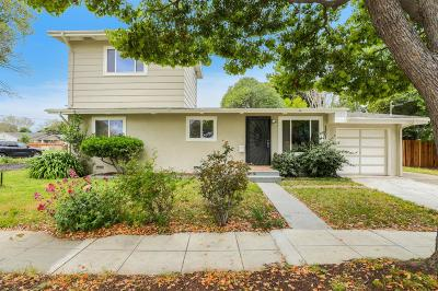 MENLO PARK Single Family Home For Sale: 1307 Hill Ave