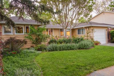 SUNNYVALE Single Family Home For Sale: 807 Ramona Ave