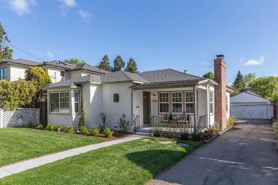 PALO ALTO Single Family Home For Sale: 2381 Emerson St