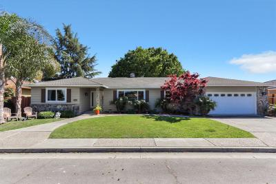 SANTA CLARA Single Family Home For Sale: 2634 Maplewood Ln