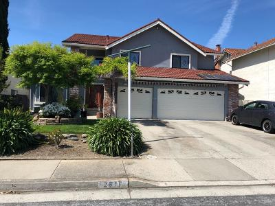 SAN JOSE Single Family Home For Sale: 2811 Glauser Dr