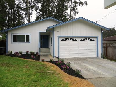 Montara Single Family Home For Sale: 741 Harte St