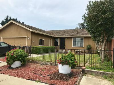HOLLISTER Single Family Home For Sale: 1250 Monica Ct