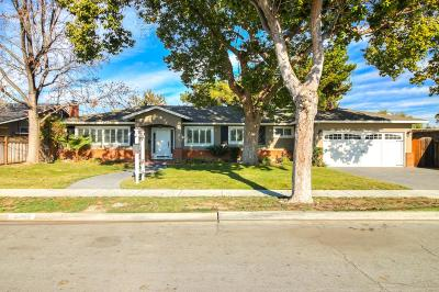 SAN JOSE Single Family Home For Sale: 1651 Santa Lucia Dr