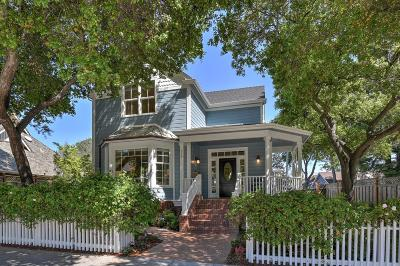 LOS GATOS Single Family Home For Sale: 316 Nicholson Ave