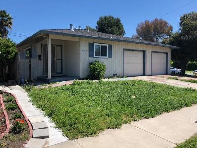 Santa Clara County Multi Family Home For Sale: 3101 Laneview Dr