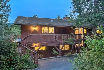 SARATOGA Single Family Home For Sale: 21050 Canyon View Dr