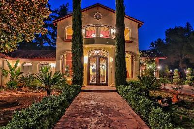 Saratoga Single Family Home For Sale: 15471 Monte Vista Dr