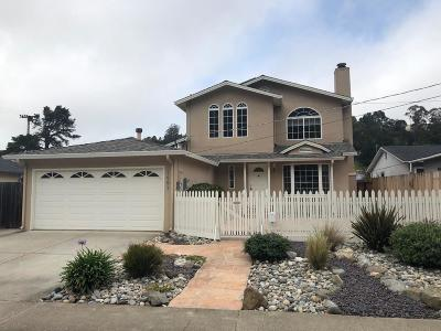 Pacifica Single Family Home For Sale: 1407 Rosita Rd