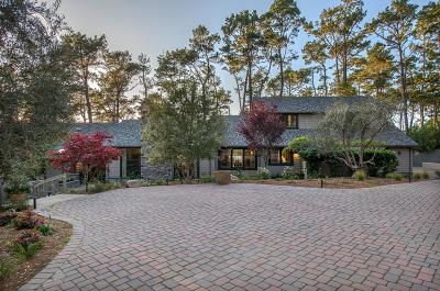 Pebble Beach Single Family Home For Sale: 3102 Flavin Ln