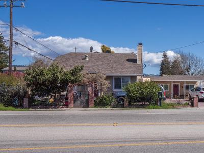 Watsonville Single Family Home For Sale: 514 Green Valley Rd