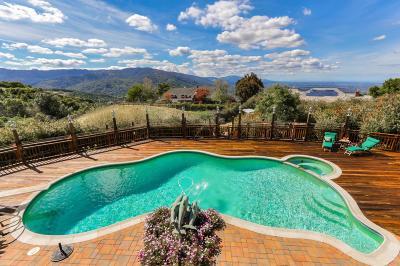 LOS GATOS Single Family Home For Sale: 16375 Aztec Ridge Dr