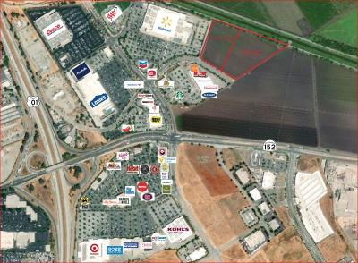 Gilroy Commercial Lots & Land For Sale: 951 & 981 Renz Ln