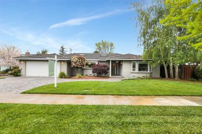 SAN JOSE Single Family Home For Sale: 2833 Cambridge Dr