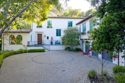 Hillsborough Single Family Home For Sale: 610 El Cerrito Ave