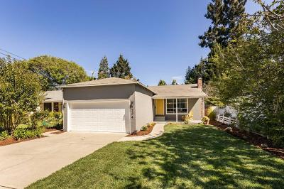 Menlo Park Single Family Home For Sale: 204 Chester St