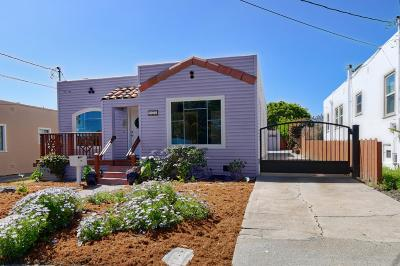 Monterey Single Family Home For Sale: 933 W Franklin St