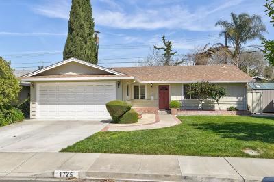 SANTA CLARA Single Family Home For Sale: 1725 Oswald Pl
