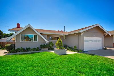 SANTA CLARA Single Family Home For Sale: 3412 Geneva Dr