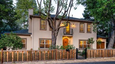 Palo Alto Single Family Home For Sale: 671 Barron Ave