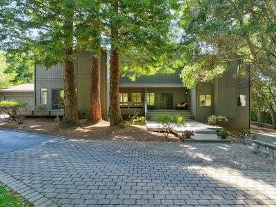 Portola Valley Single Family Home For Sale: 180 Cherokee Way