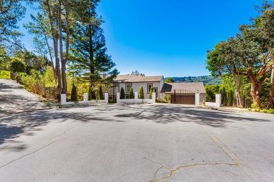HILLSBOROUGH Single Family Home For Sale: 15 Pilarcitos Ct