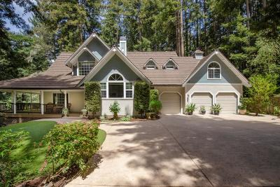 SCOTTS VALLEY Single Family Home For Sale: 7200 Highway 17