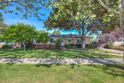 SAN JOSE CA Single Family Home For Sale: $1,498,000