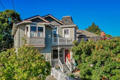 Pacific Grove Single Family Home For Sale: 410 Sinex Ave