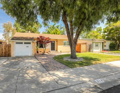 SUNNYVALE Single Family Home For Sale: 318 Bartlett Ave