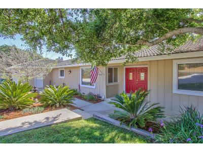 SALINAS Single Family Home For Sale: 18210 Berta Canyon Rd