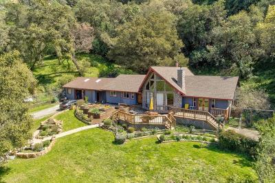 MORGAN HILL Single Family Home For Sale: 6700 Croy Rd