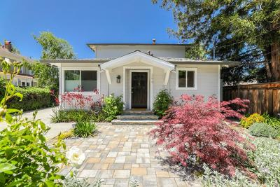 Mountain View Single Family Home For Sale: 394 Mariposa Ave