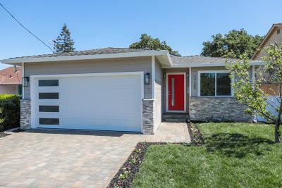 SAN CARLOS Single Family Home For Sale: 1725 Brittan Ave