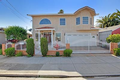 SAN BRUNO Single Family Home For Sale: 381 Huntington Ave
