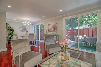 SANTA CLARA Townhouse For Sale: 3245 Benton St