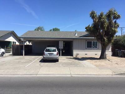 SUNNYVALE Multi Family Home For Sale: 486 S Fair Oaks Ave