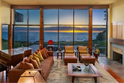 Carmel Highlands Single Family Home For Sale: 36648 Highway 1