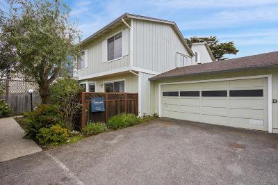Half Moon Bay Townhouse For Sale: 444 Oak Ave D