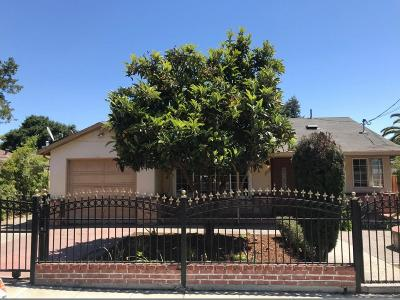 EAST PALO ALTO Single Family Home For Sale: 2284 Dumbarton Ave