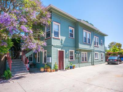SANTA CRUZ Multi Family Home For Sale: 708 Riverside Ave