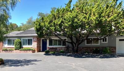 Redwood City Single Family Home For Sale: 1707 Edgewood Rd