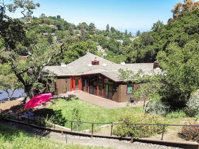 Hillsborough Single Family Home For Sale: 1375 Black Mountain Rd