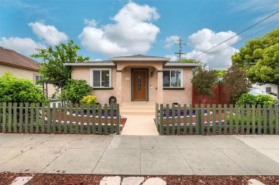 SAN JOSE Single Family Home For Sale: 1107 Mastic St
