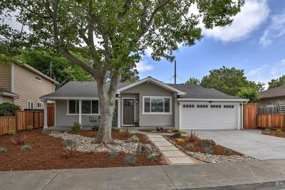 SANTA CLARA Single Family Home For Sale: 2184 Talia Ave