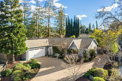 LOS GATOS Single Family Home For Sale: 131 Green Hill Way