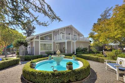 Los Gatos Single Family Home For Sale: 23403 Del Monte Way